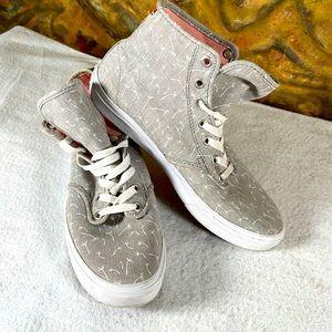 VANS Wisher Dandelion High Top Lace Up Sneaker W 8